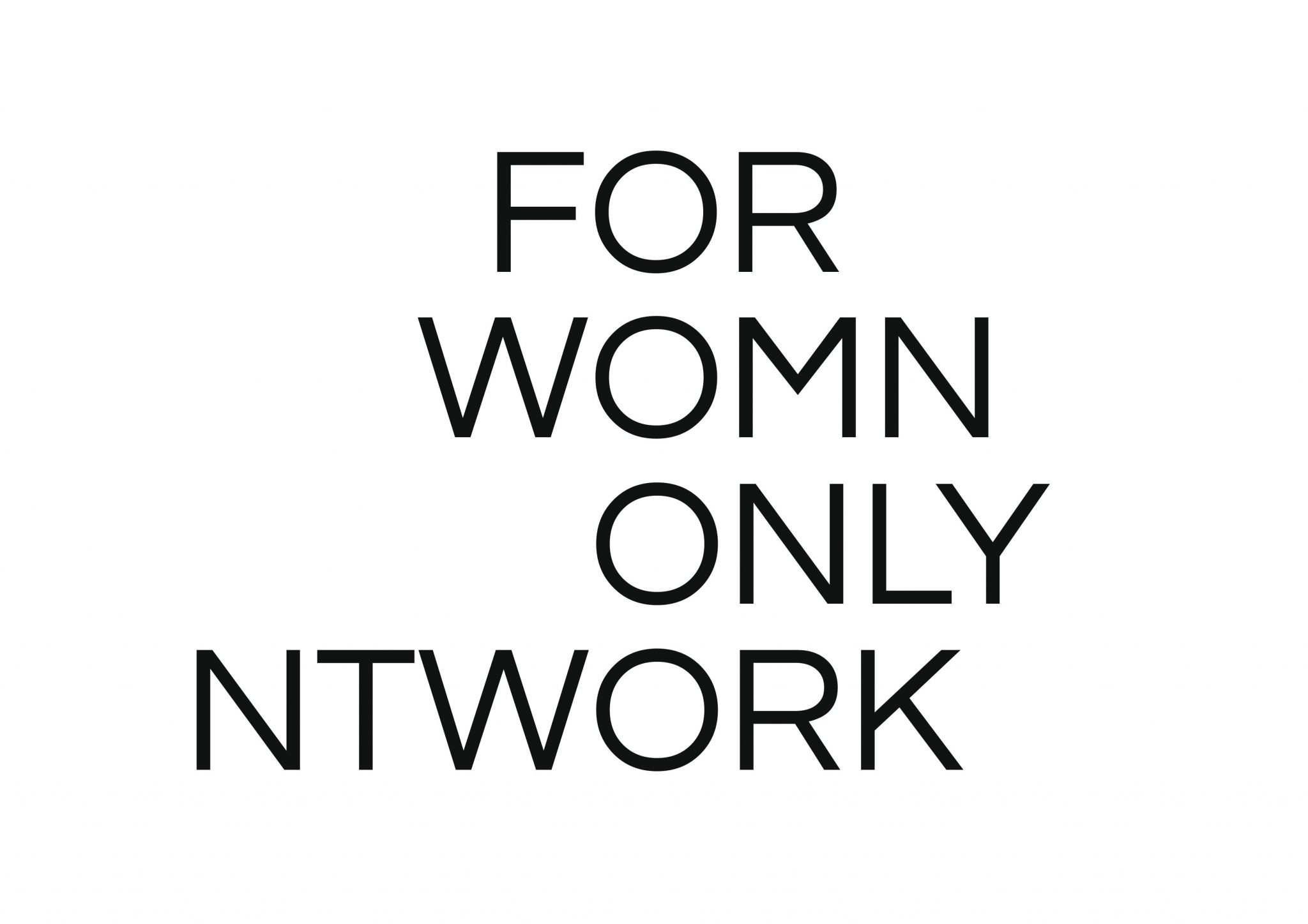 Logo von for womn only ntwork